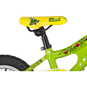 Ghost Powerkid AL 12 Barn riot green/cane yellow/riot red